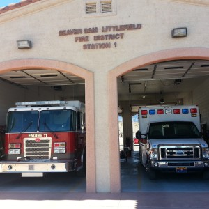 Beaver Dam/Littlefield Fire  Station #1 630 E. Highway 91 Beaver Dam, AZ  86432 Phone: (928) 347-5114