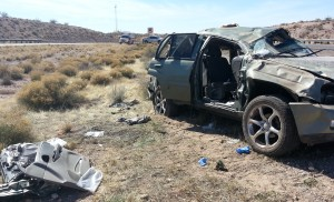 Rollover I-15 Southbound